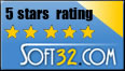 Soft32 5 Star Award